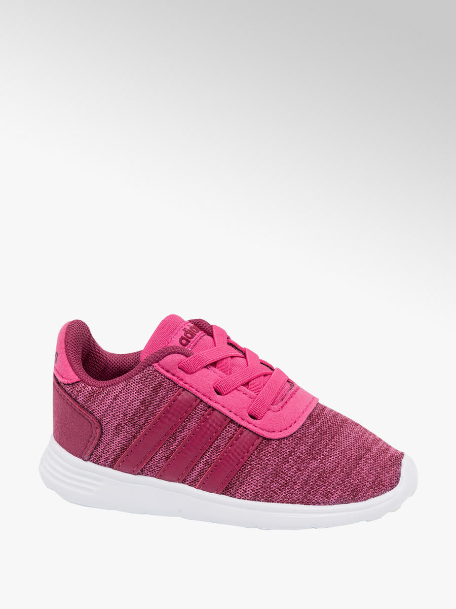 9df4d92332e2 Adidas Lite Racer Toddler Girls Trainers Pink