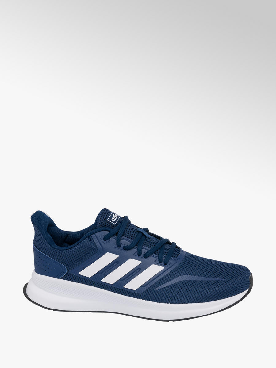 competitive price 86c1b 95d56 adidas Mens Adidas Dark Blue Falcon Trainers