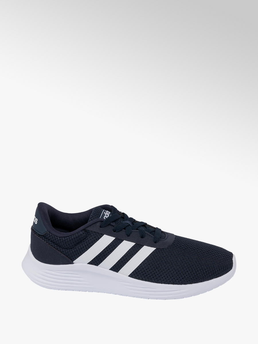 adidas lite racer mens trainers white