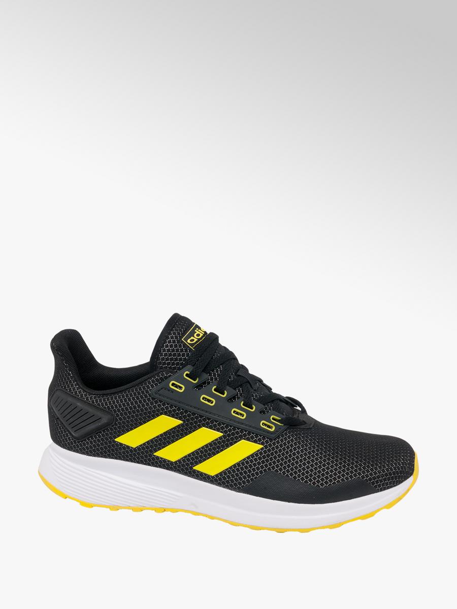 bfc1f0bda1 Adidas Men s Trainers Black and Yellow