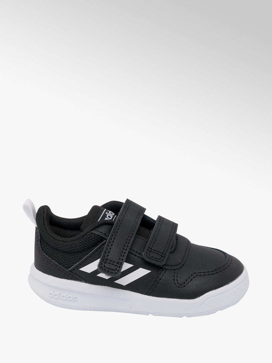 Touch Strap Trainers Black