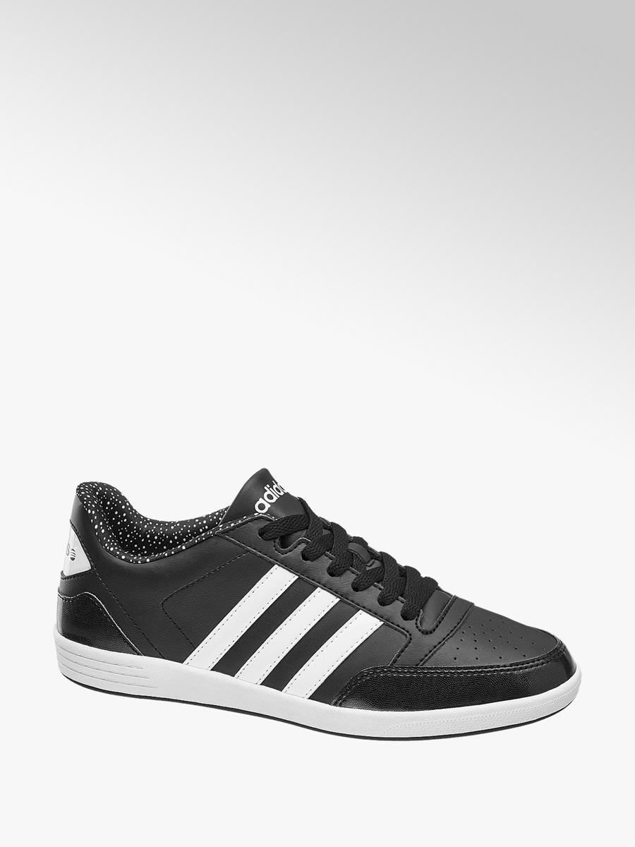 size 40 27422 2ba99 Adidas VL Hoops Ladies  Trainers Black   Deichmann