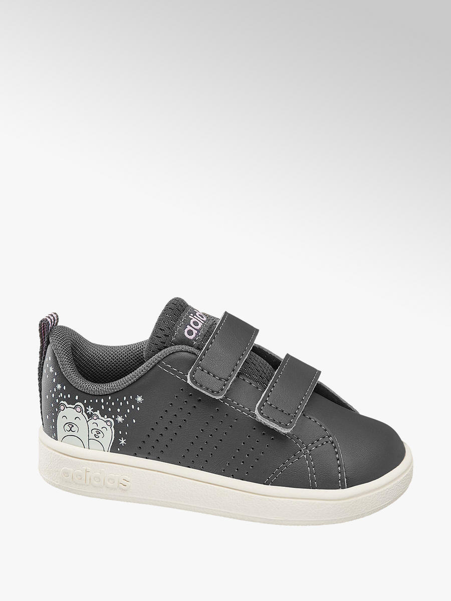 6bea187cb046 Adidas VS ADVCL CMF INF szürke tépőzáras gyerek cipő - adidas | DEICHMANN