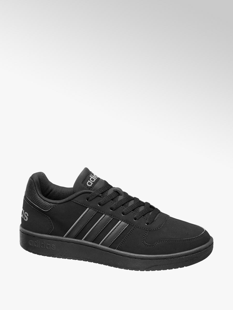 b95a67eaa3fc Adidas VS Hoops Low Men s Trainers Black
