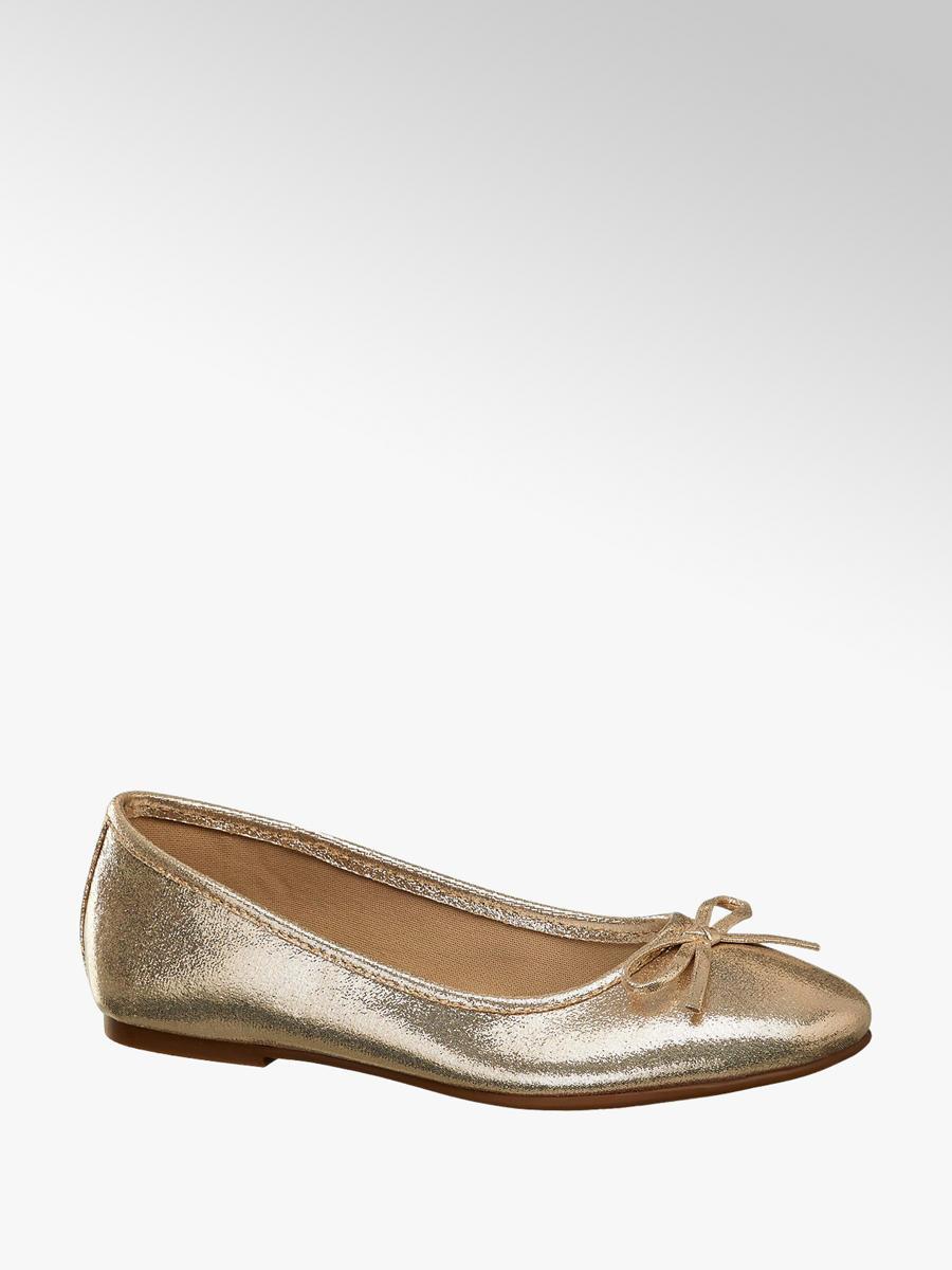 nuovo concetto f3e44 c0861 Ballerina in similpelle oro da bambina   Deichmann