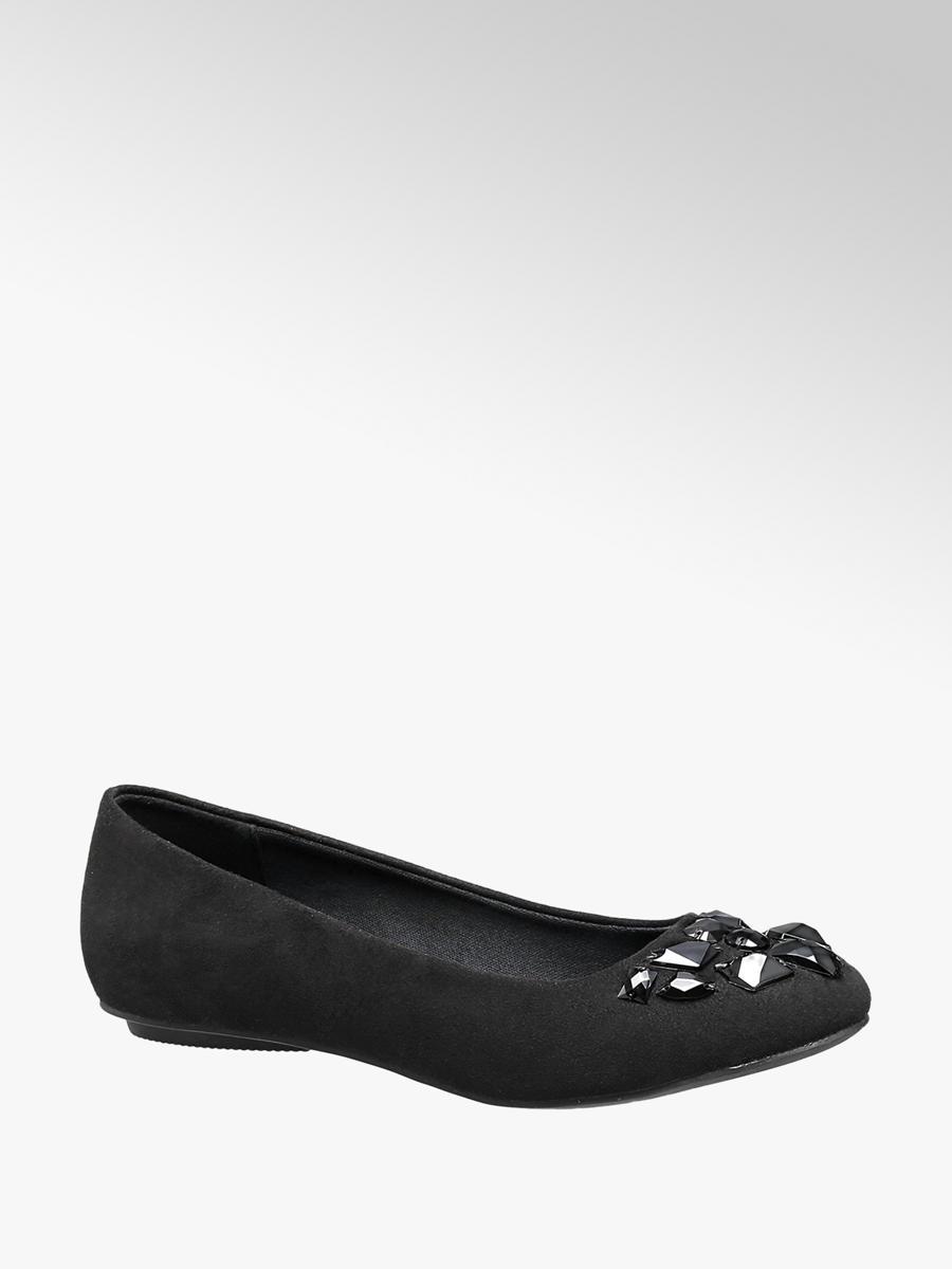e539f4762829c6 Ballerina von Graceland in schwarz - DEICHMANN