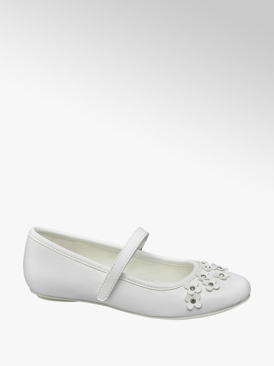 6dea67d2ad1ef Ballerina von Graceland in weiß - DEICHMANN