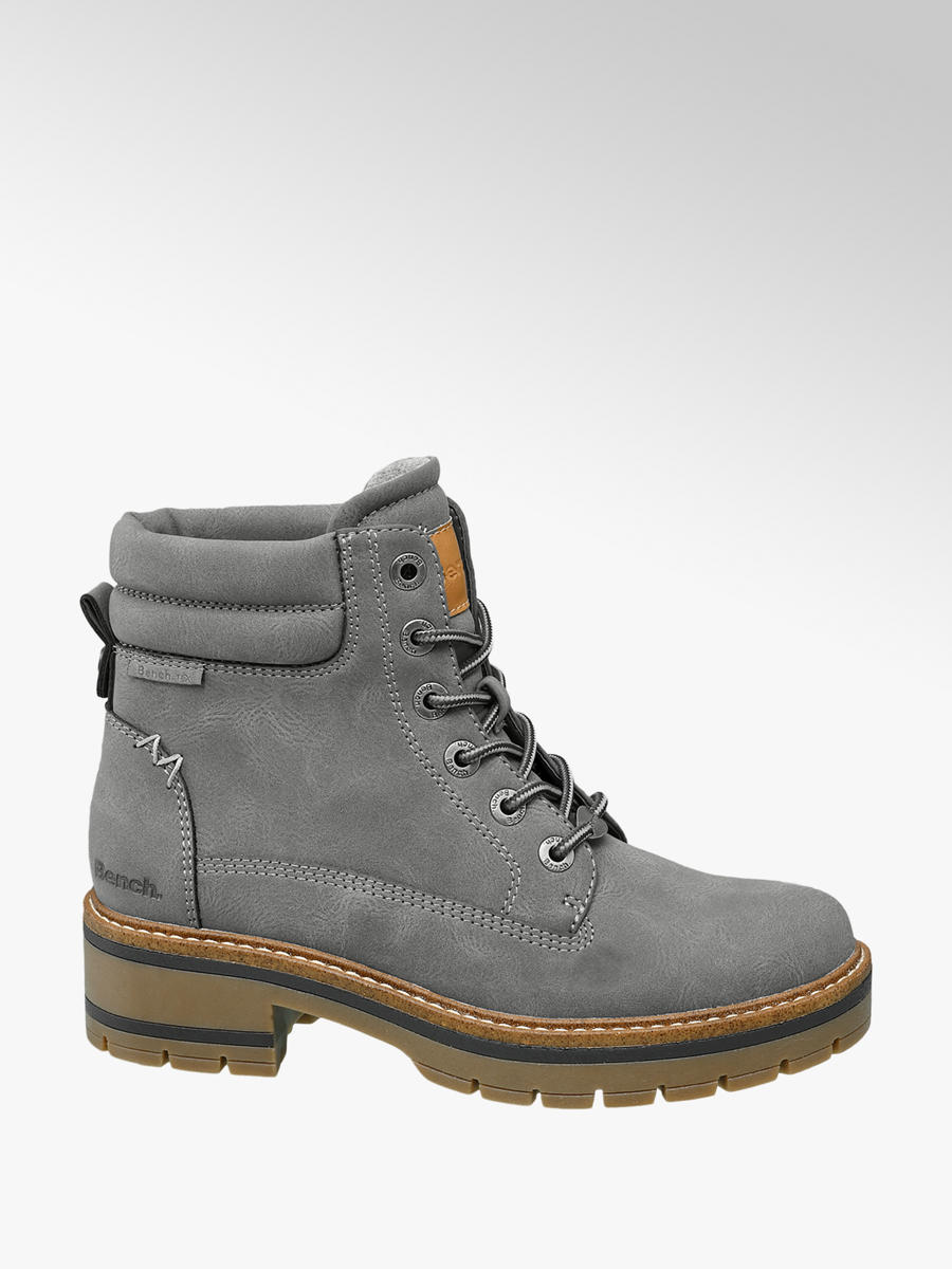 Bench Grey Ladies Lace Up Boots | Deichmann
