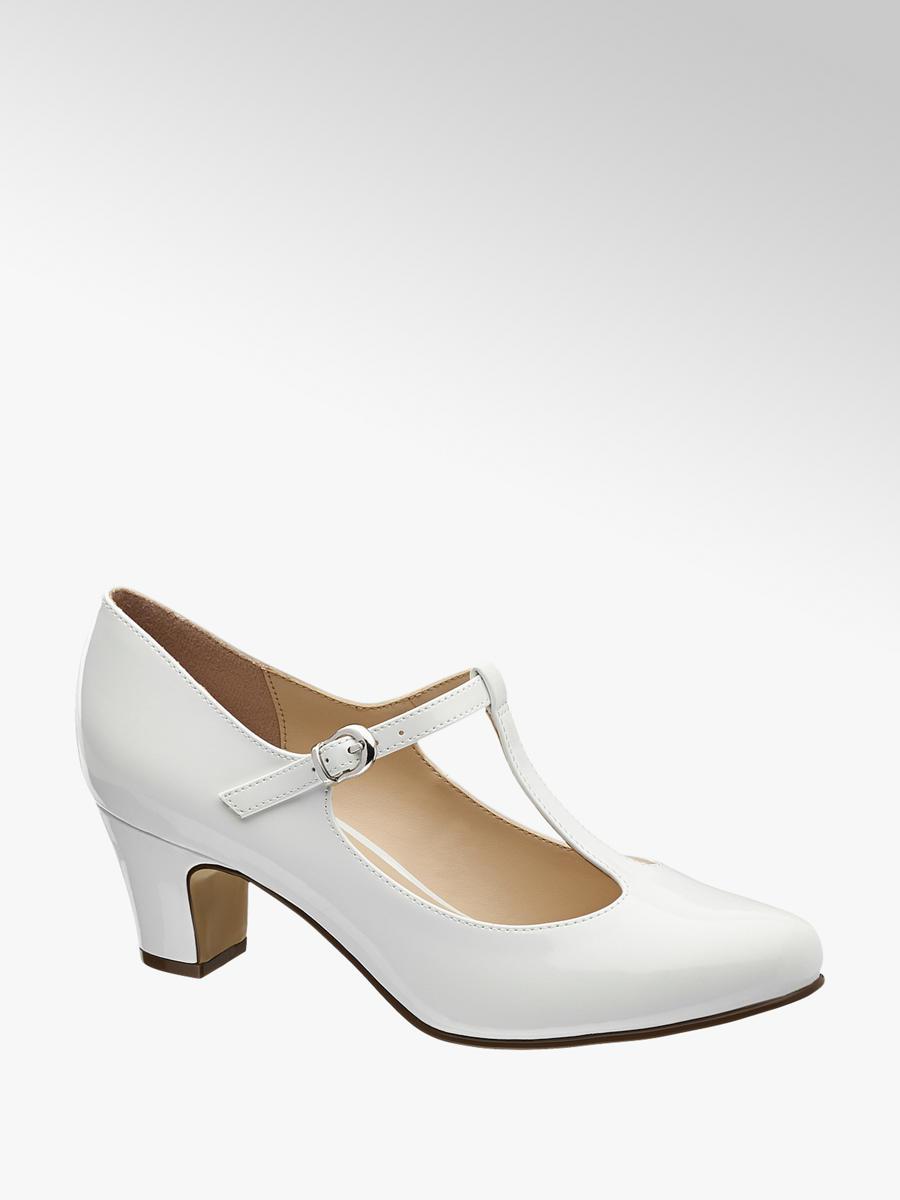 e090463935e31 Białe czółenka damskie Graceland - 1159610 - deichmann.com