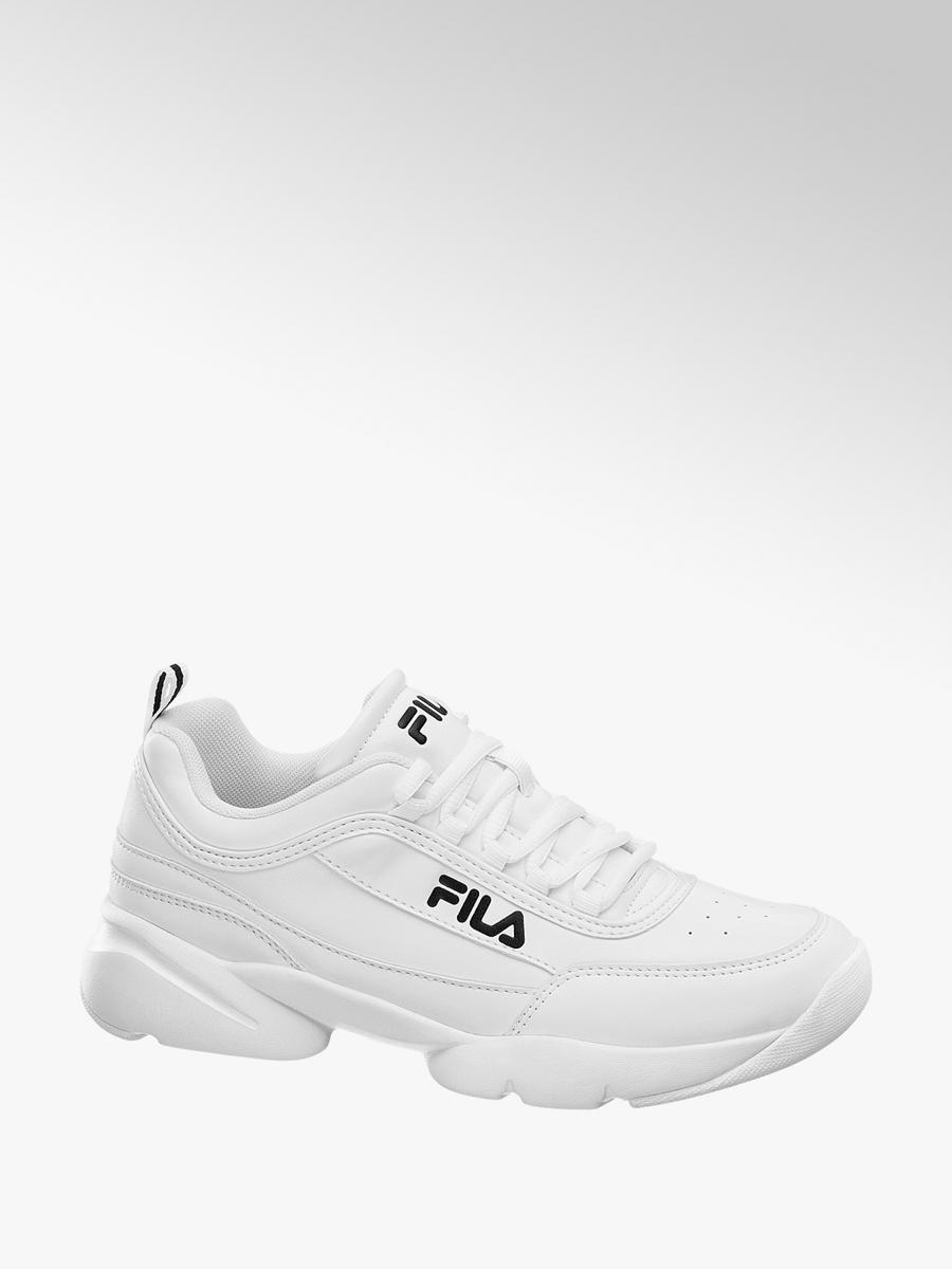 buty jesienne najwyższa jakość najlepsze oferty na Biale sneakersy damskie Fila - 1821010 - deichmann.com