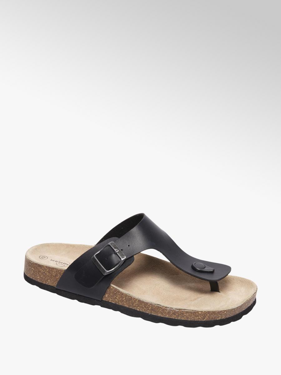 87f3bfcca82b Bjorndal Men s Black Toe Post Sandals