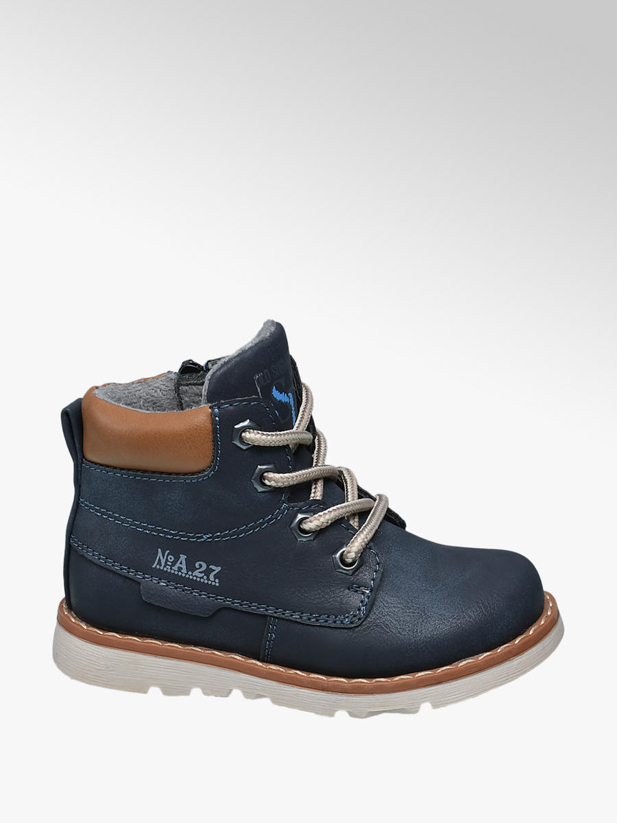 aa1927cd1bc5 Bobbi-Shoes Toddler Boys  Lace-up Ankle Boots in Blue