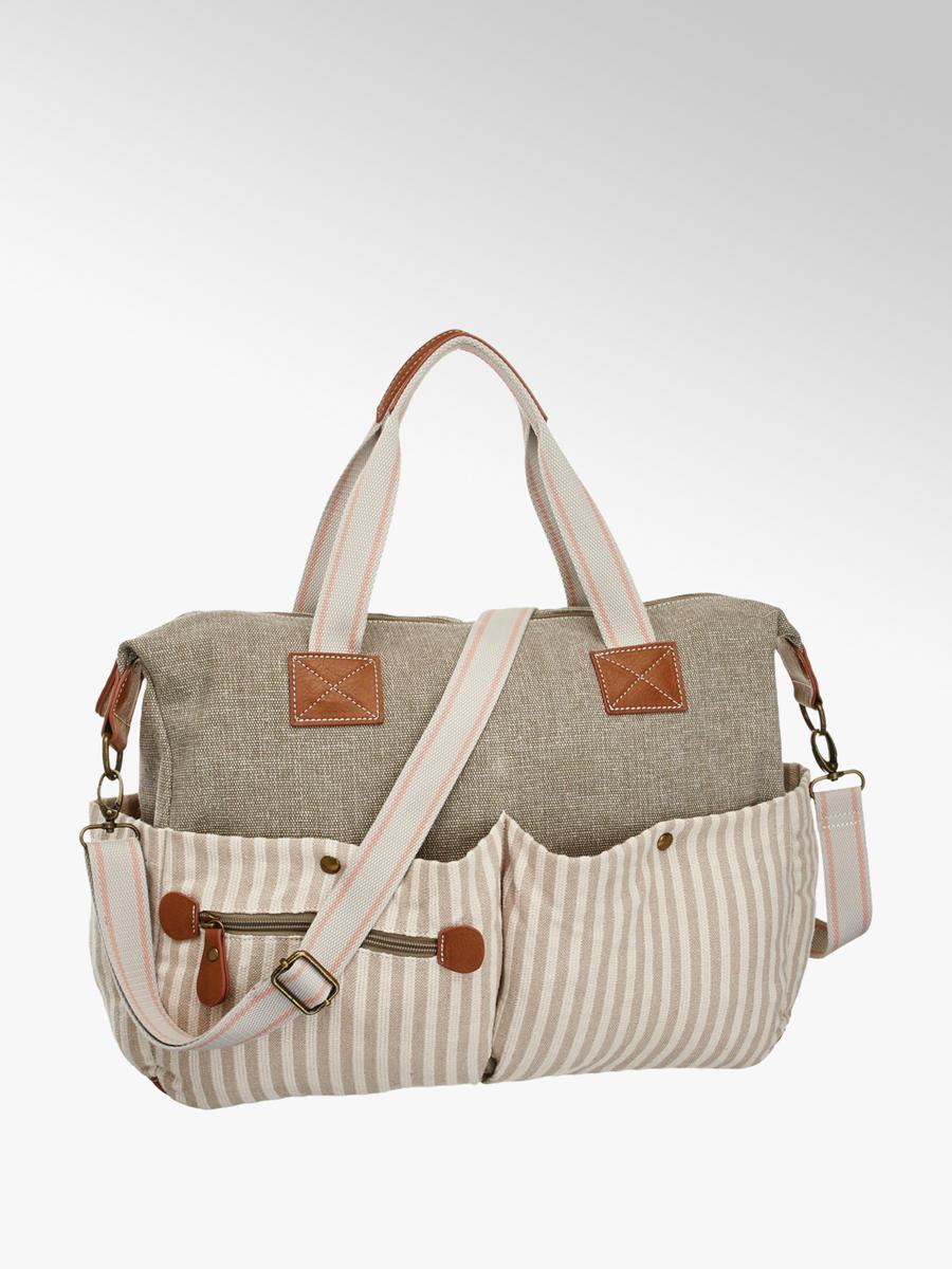 7e2026db68 Bézs csíkos női táska - Graceland | DEICHMANN