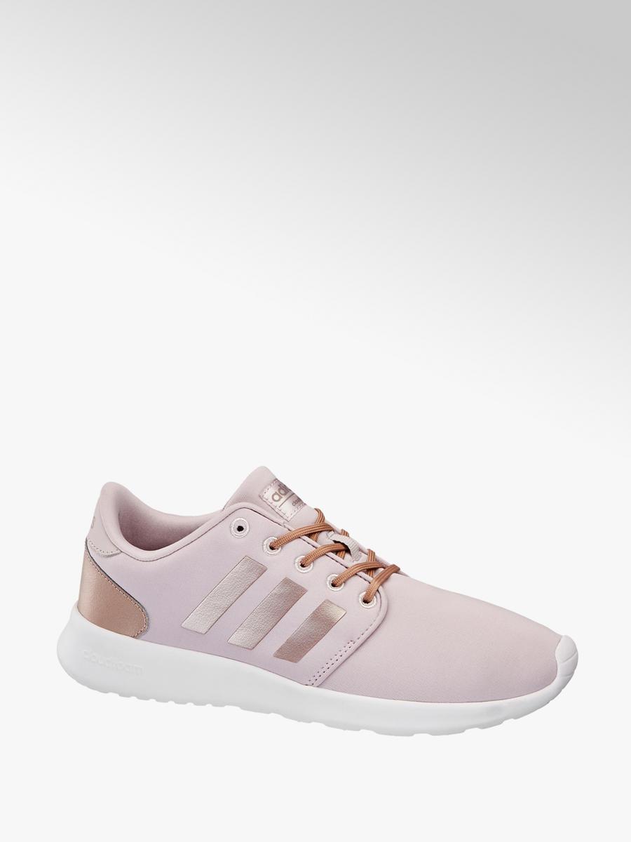 superior quality 5af32 b1cfb CF QT Racer Damen Sneaker in rosa von adidas günstig im Online-Shop kaufen
