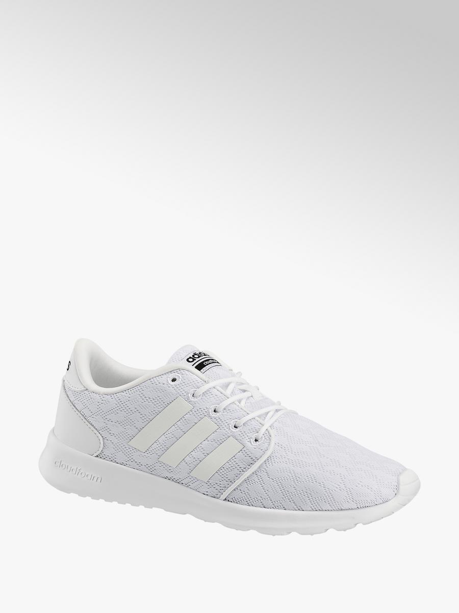 new styles e1a11 932ce CF QT Racer Damen Sneaker in weiß von adidas günstig im Online-Shop kaufen