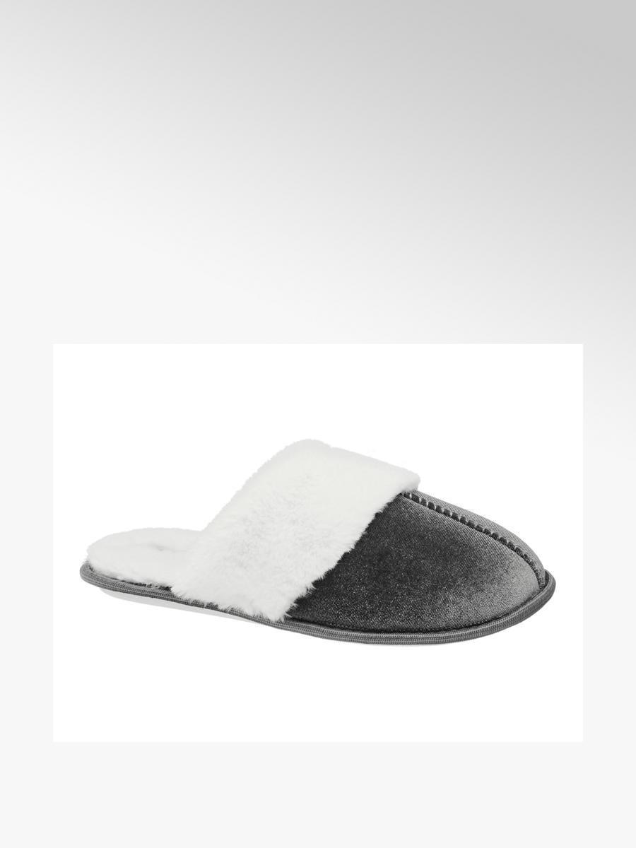 velvet mule slippers