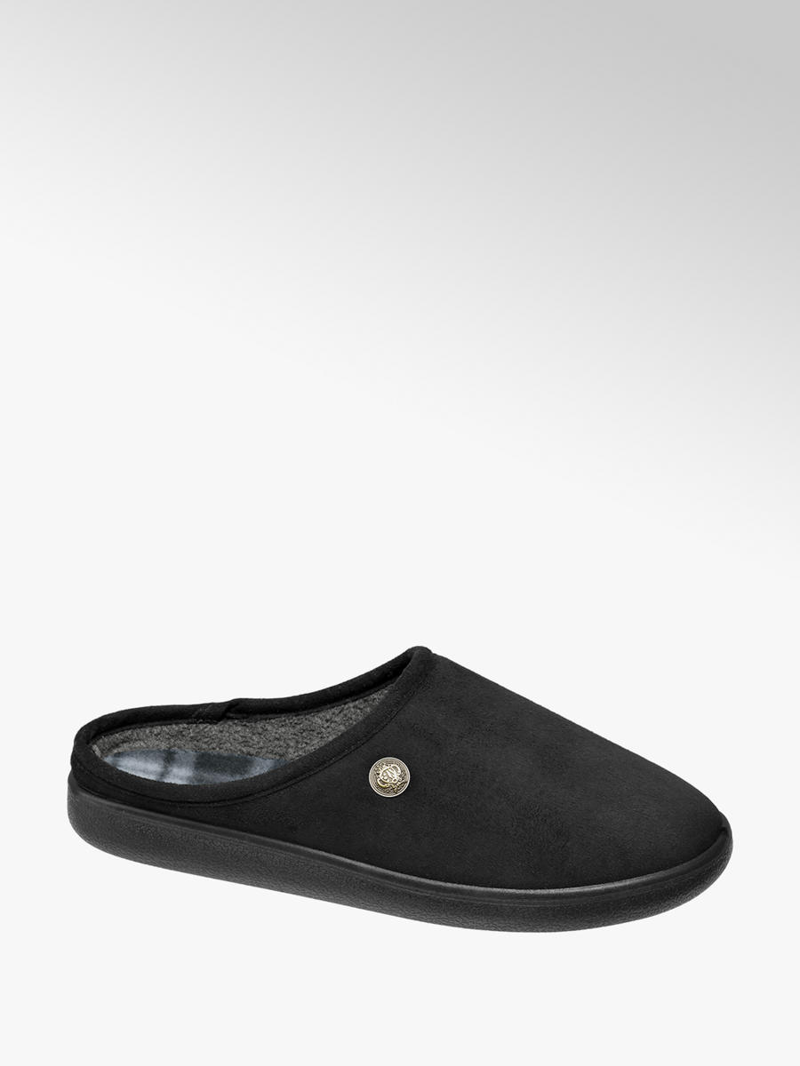 Casa Mia Men's Soft Mule Slippers in