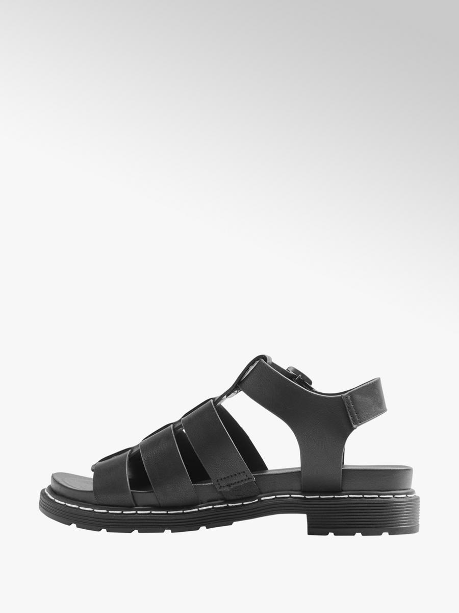 Catwalk Ladies Chunky Gladiator Sandals