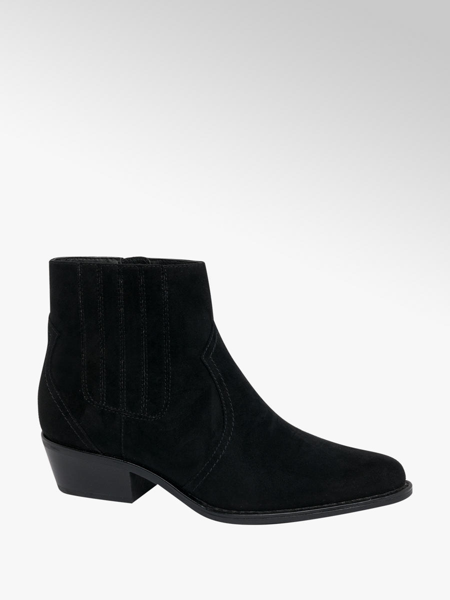 Catwalk Ladies Western Ankle Boots