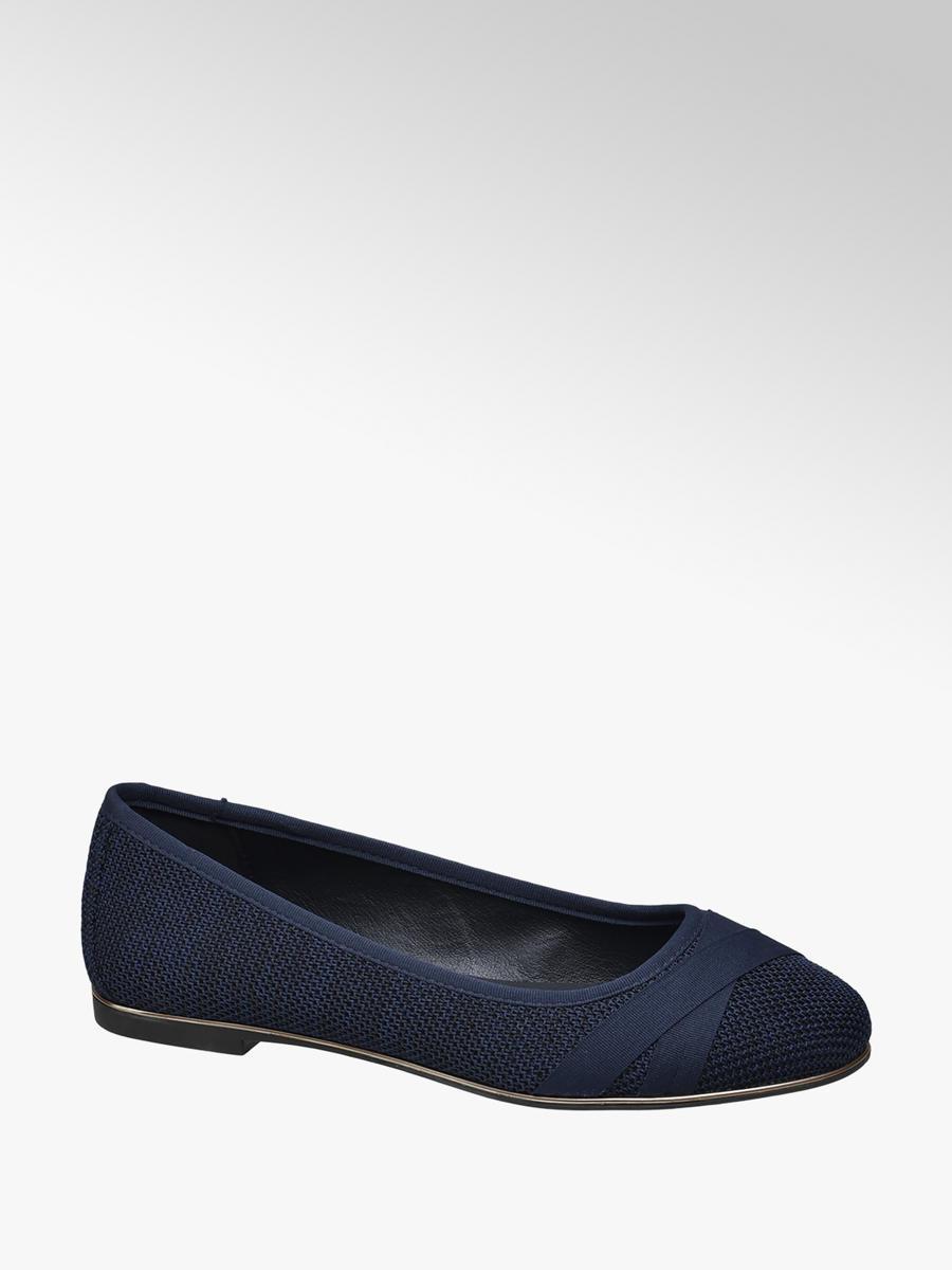 Comprare ballerina donna in blu scuro di Graceland nel shop online 1e6bc008671