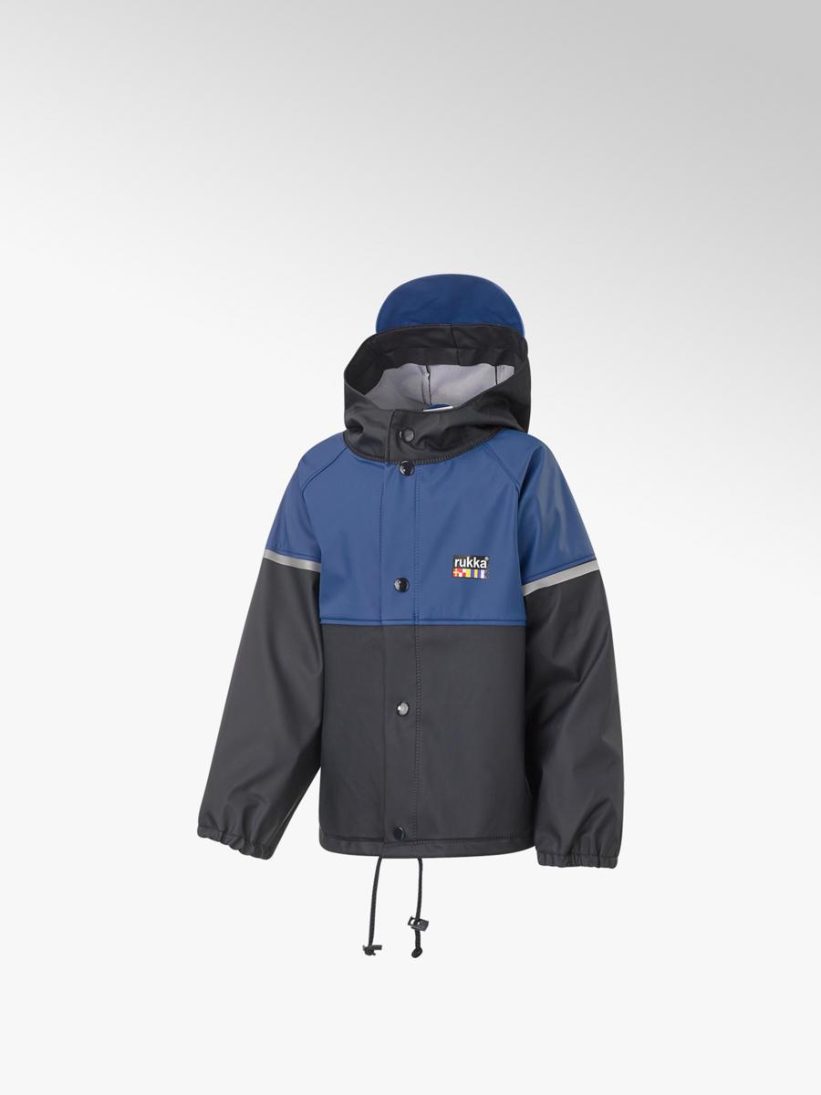 new styles 8e410 34380 Comprare giacca da pioggia bambino in blu di Rukka nel shop ...