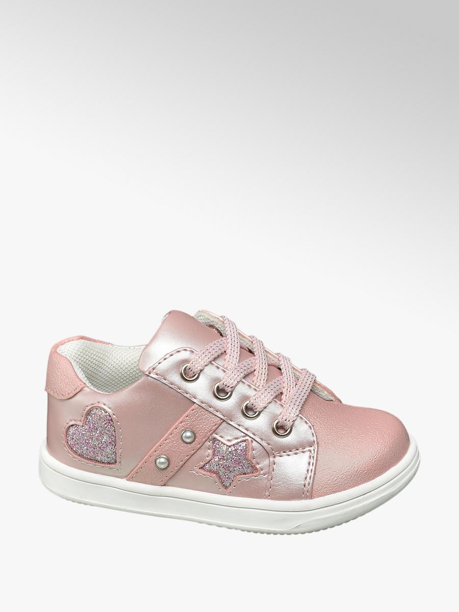 7f7287ed78a Cupcake Couture Roze sneaker vetersluiting - Gratis Bezorgd & Retour |  vanHaren Schoenen