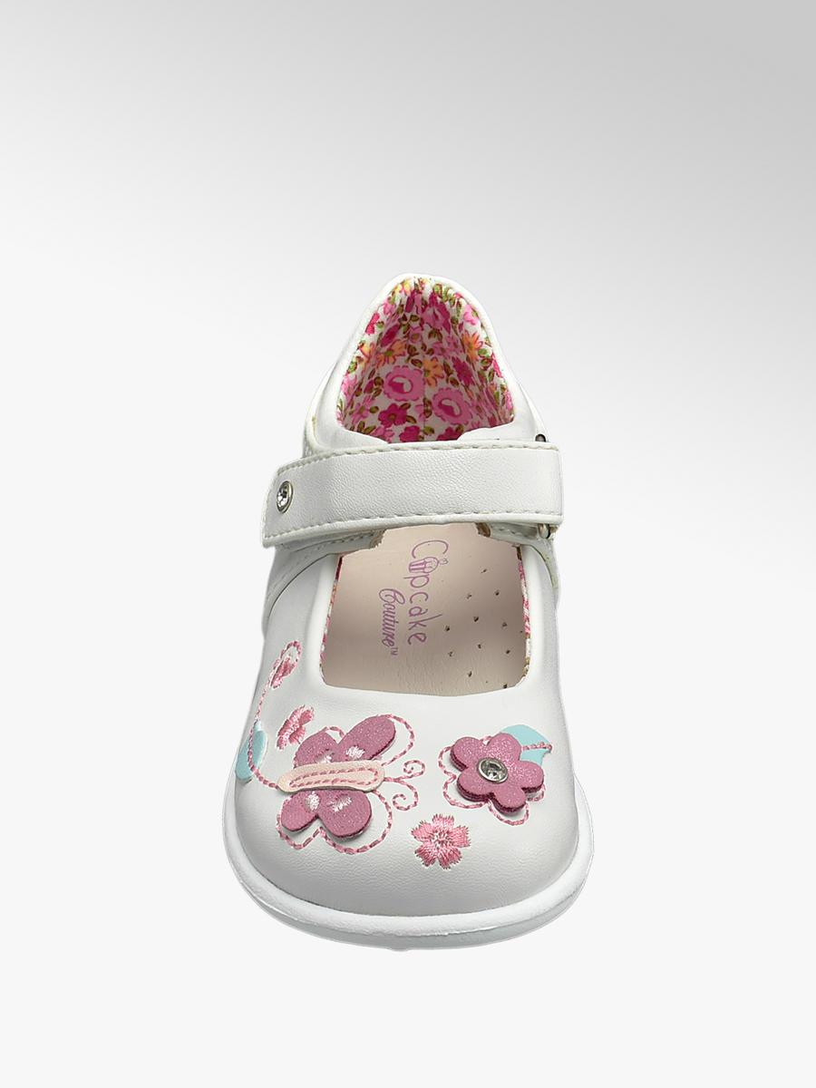 Cupcake Couture Toddler Girls White
