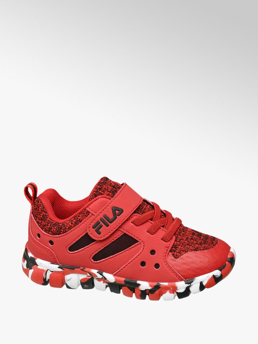 72ab2364 Czerwone sportowe buty dziecięce Fila - 1801016 - deichmann.com
