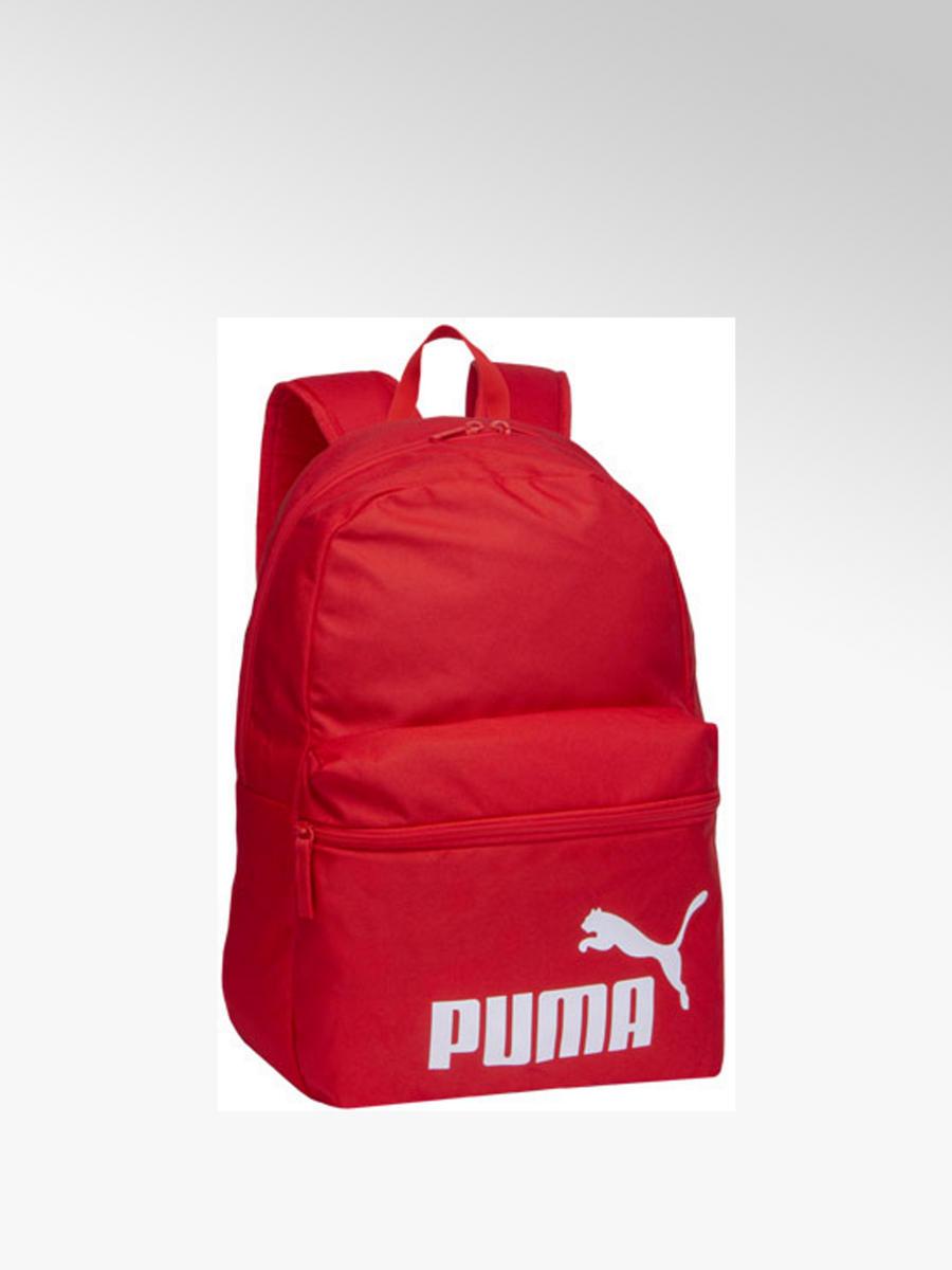 później o rozsądnej cenie świetna jakość Czerwony plecak Puma Phase - 41401029 - deichmann.com