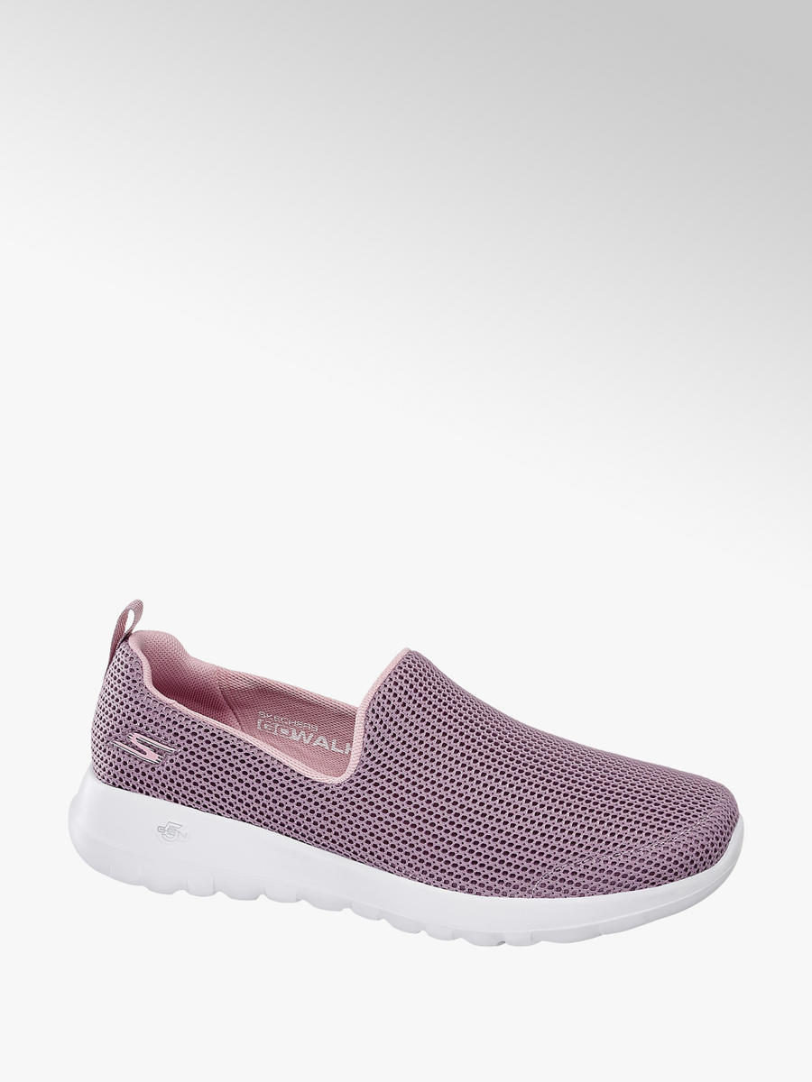 Damen Slipper von Skechers in rosa - deichmann.com