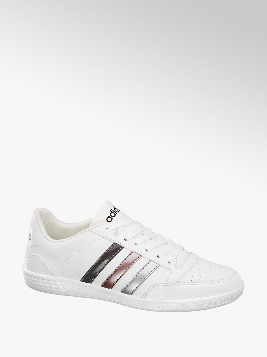 Damen Sneakers VL HOOPS LOW von adidas in weiß - deichmann.com