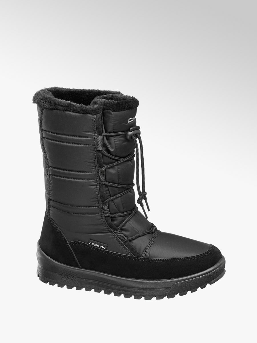 online retailer 545aa a0c6f Damen Damen Snowboots gefüttert von Cortina in schwarz ...