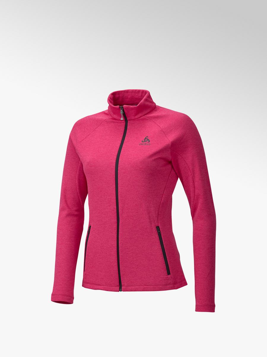 e554e10a244a04 Damen Fleecejacke in pink von Odlo günstig im Online-Shop kaufen
