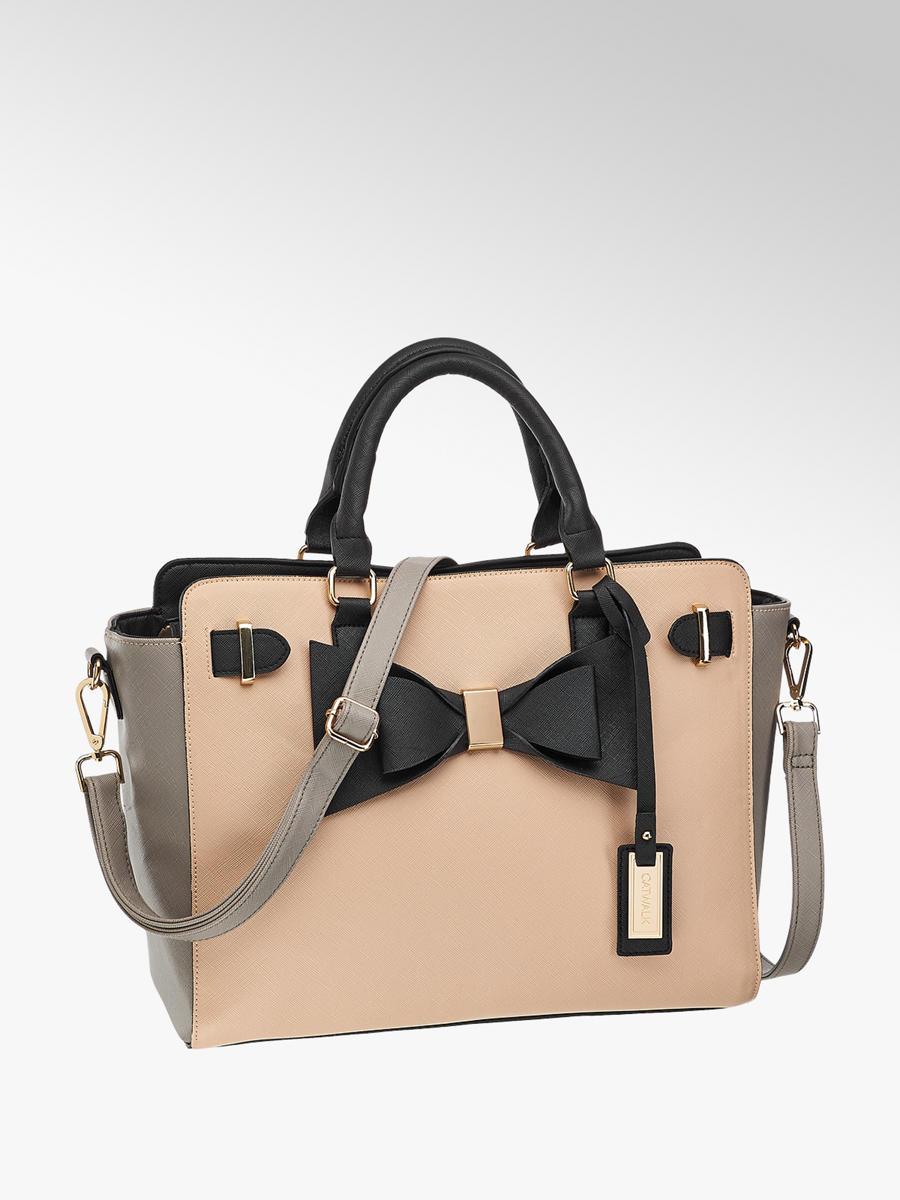 Damen Handtasche Von Catwalk In Grau Deichmann Com