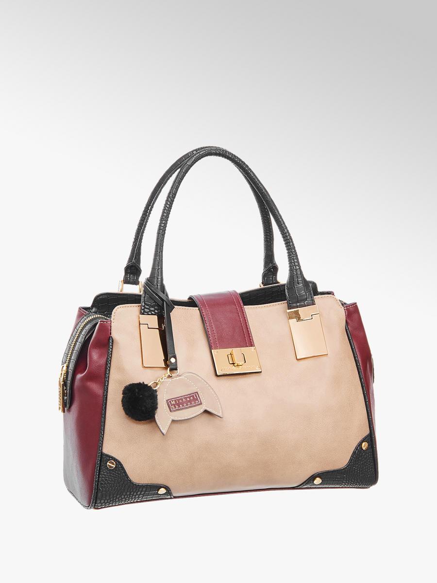Damen Handtasche Von Michael Shannon In Beige Deichmann Com