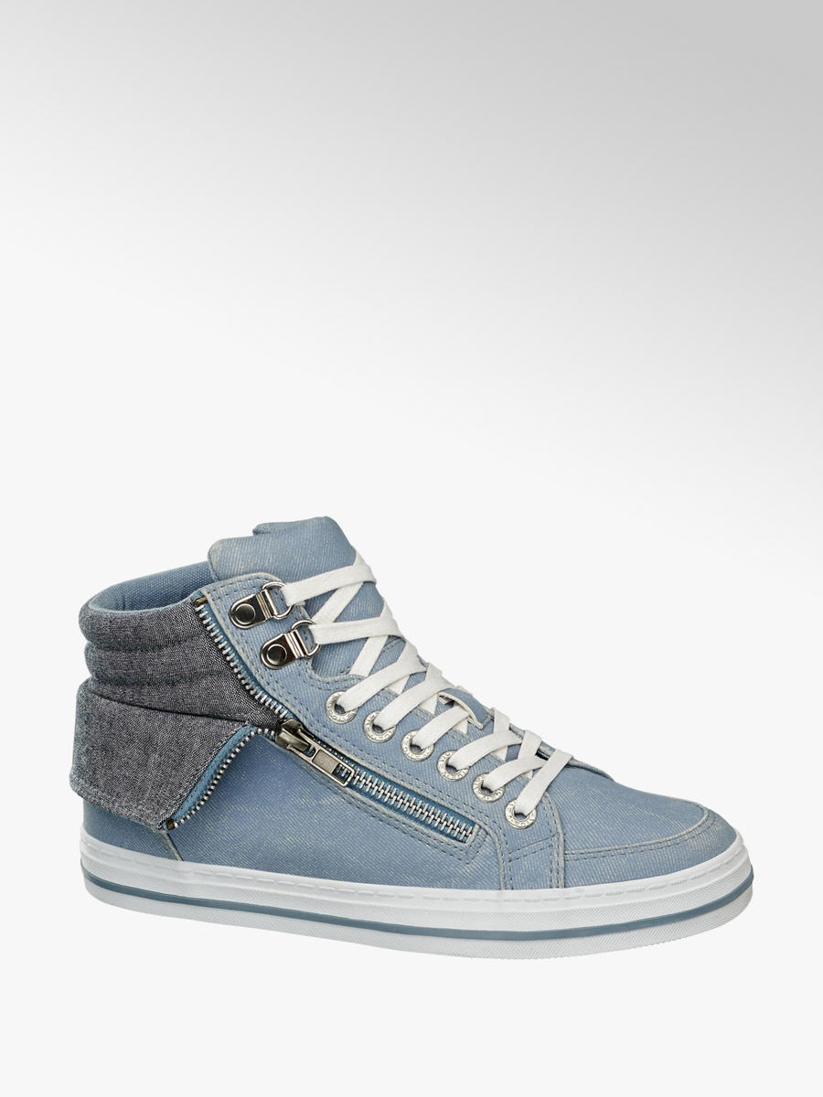 save off a7f2d 25cf1 Damen Mid Cut Sneakers von Venice in blau - deichmann.com