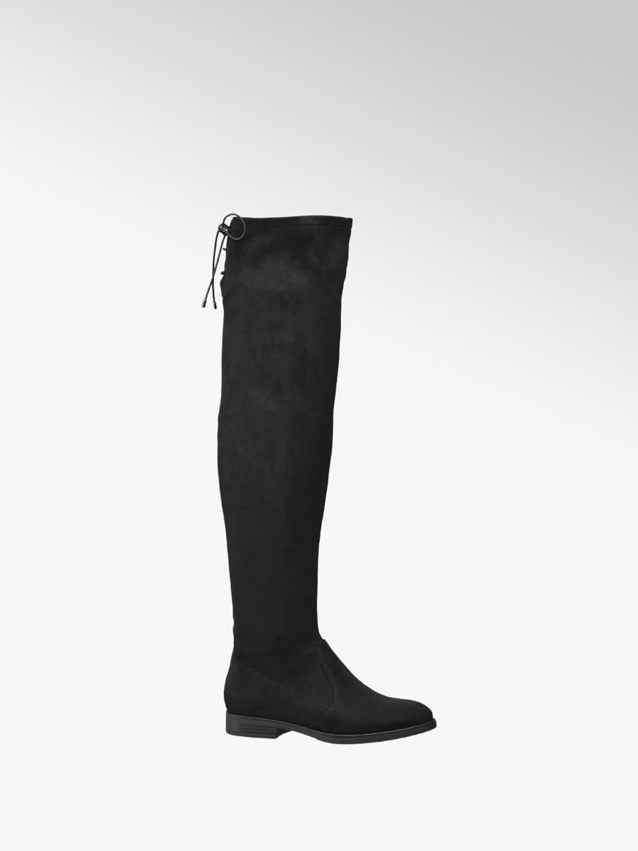 d1e6066277669 Damen Overknee Stiefel in schwarz von Graceland günstig im Online ...