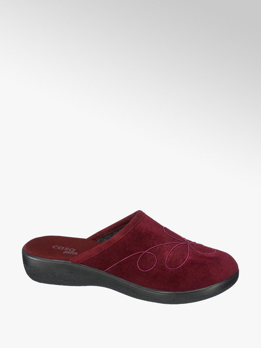 new style c312d 155e2 Damen Pantoffeln von Casa mia in rot - deichmann.com