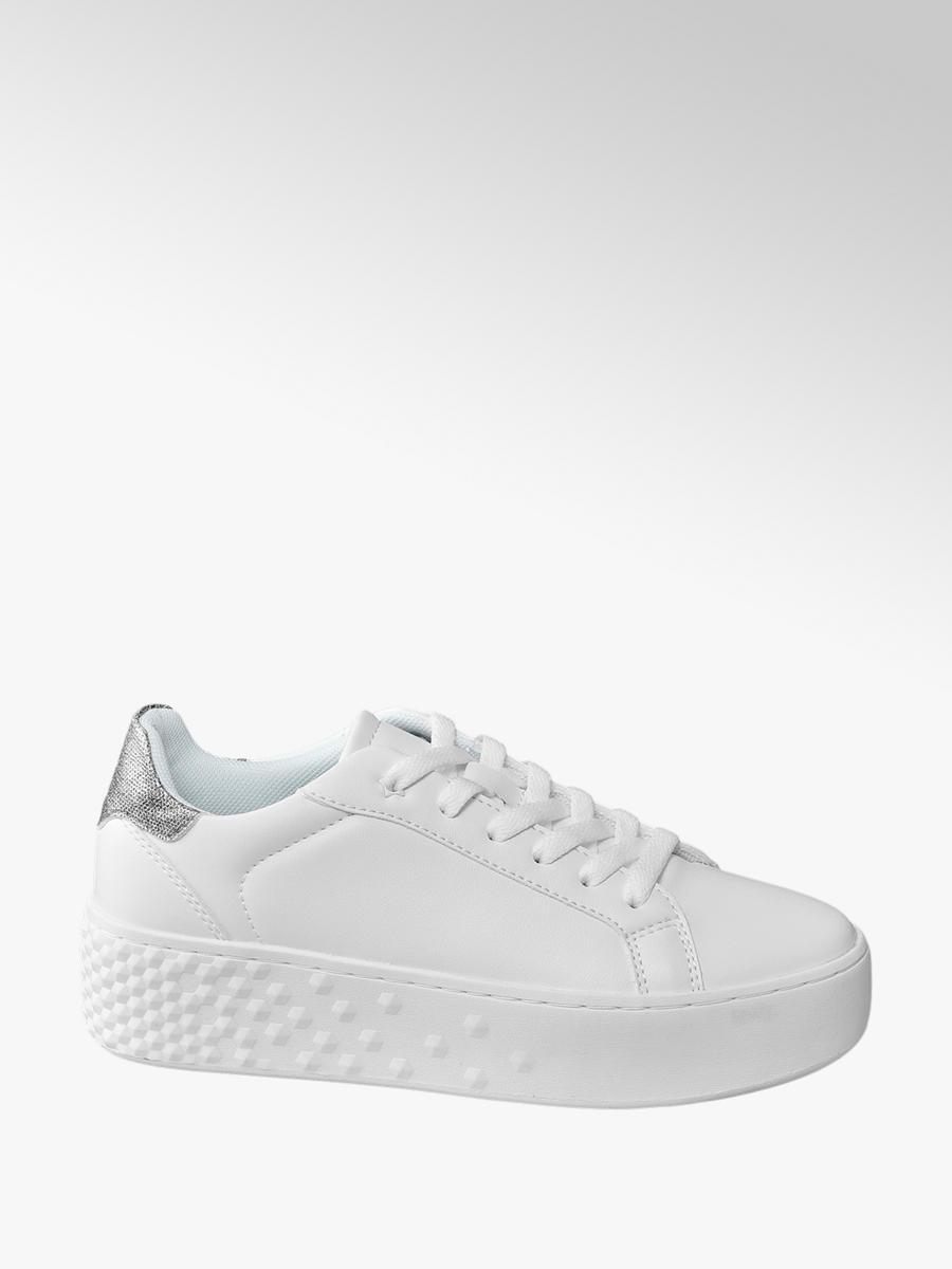 6eaf044ce58258 Damen Plateau Sneakers von Graceland in weiß - deichmann.com