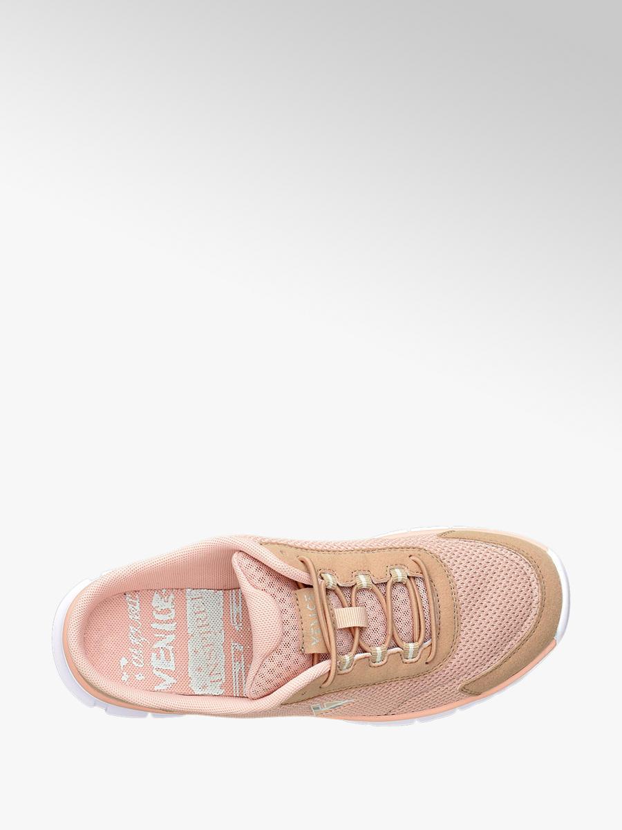Keine Verkaufssteuer Wie findet man zeitloses Design Damen Sabots von Venice in rosa - deichmann.com