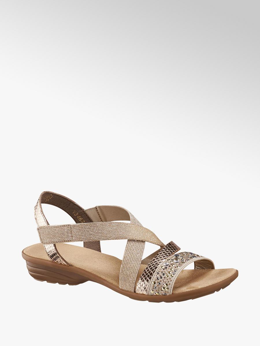 1009cb549d61d3 Damen Sandale in beige von Rieker günstig im Online-Shop kaufen