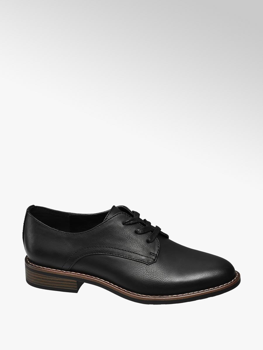 46956446fb7 Damen Schnürschuh in schwarz von Graceland günstig im Online-Shop kaufen