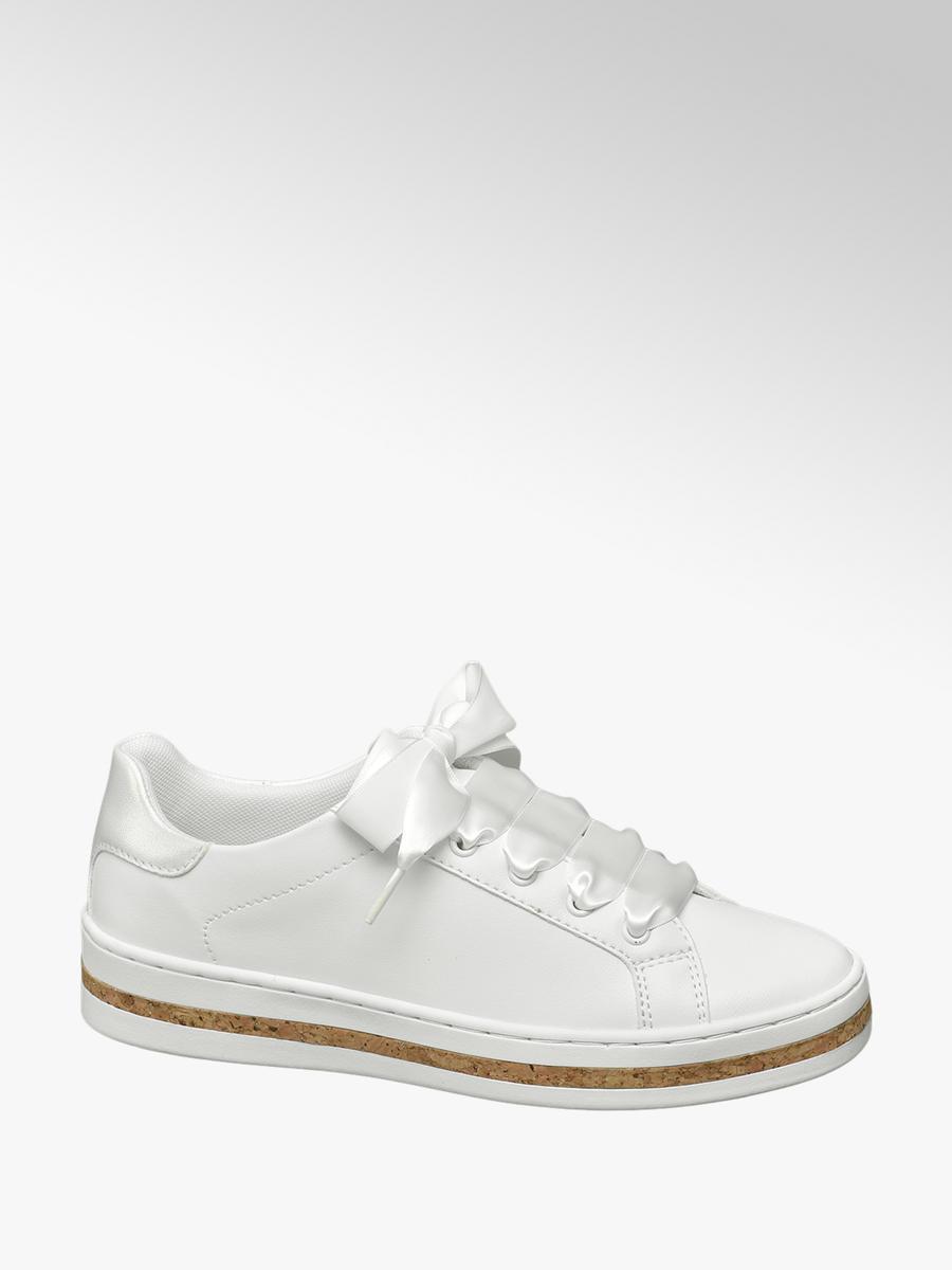 c4c64837ff93e2 Damen Schnürschuh in weiß von Graceland günstig im Online-Shop kaufen