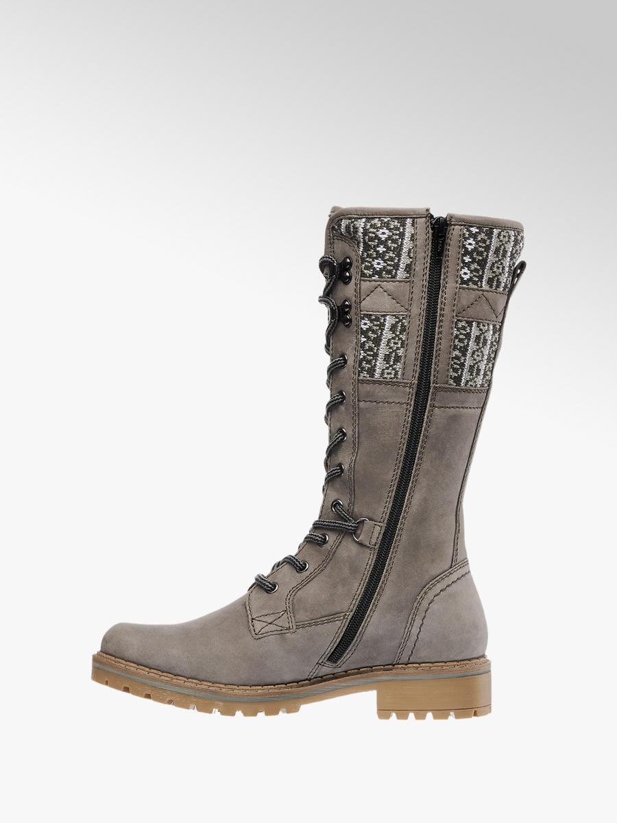 57f269c735fa47 Damen Schnürstiefel in grau von Landrover günstig im Online-Shop kaufen