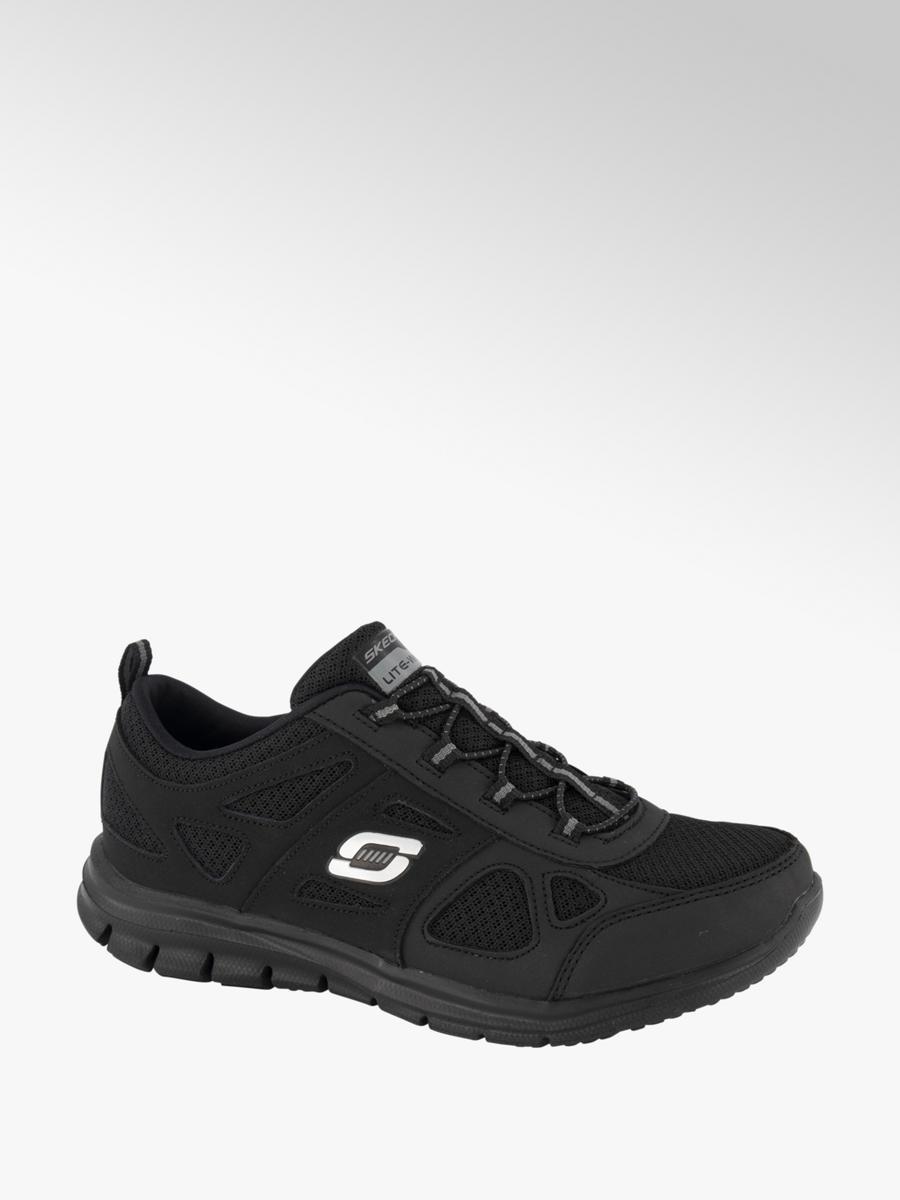 best sneakers 1725e 12364 Damen Slip on Sneakers von Skechers in schwarz - deichmann.com