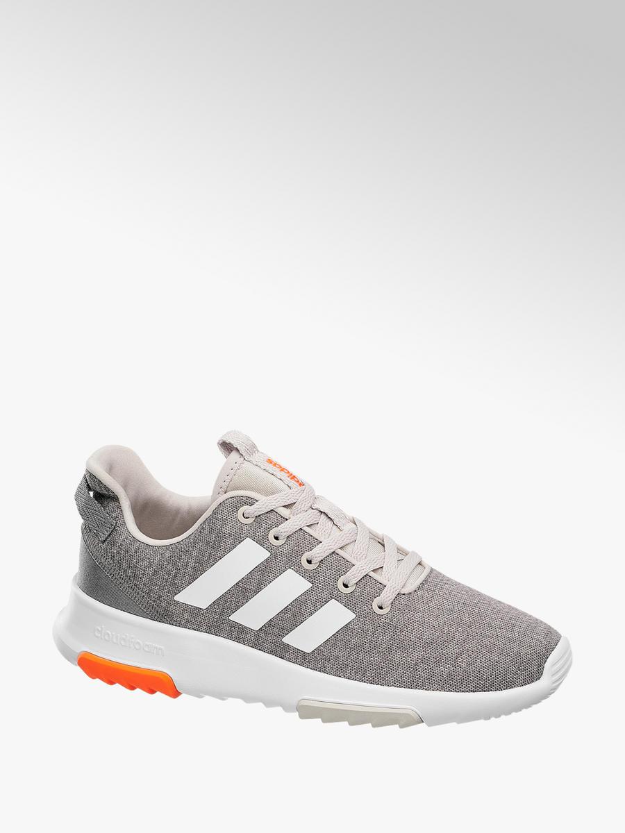 Damen Sneakers Cf Racer Trk Von Adidas In Orange Deichmann Com