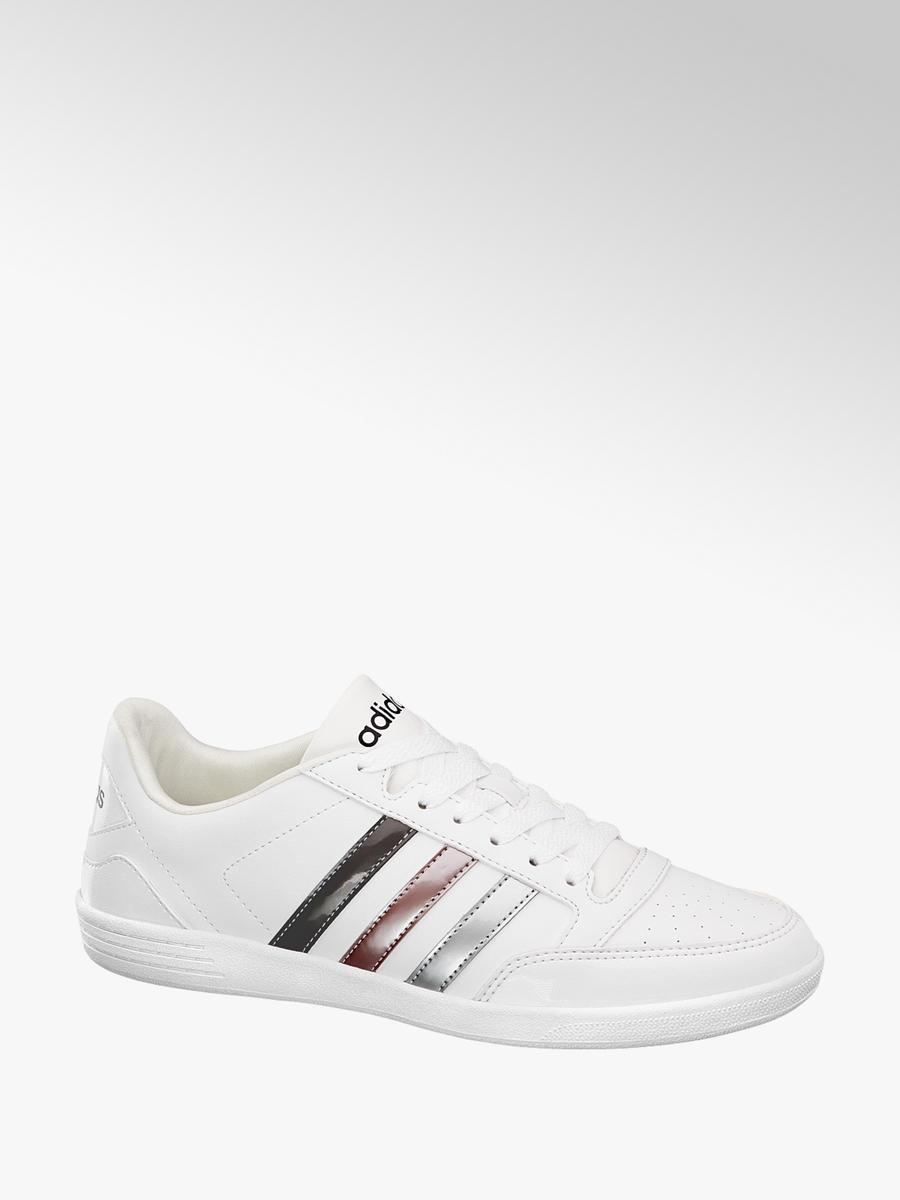 cheap look out for buy popular Damen Sneakers VL HOOPS LOW von adidas in weiß - deichmann.com