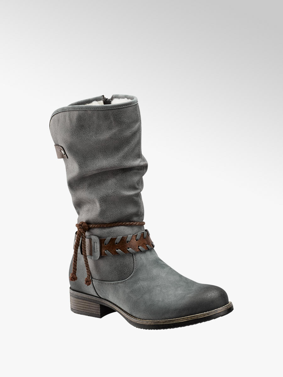 premium selection e8294 b19c8 Damen Stiefel in grau von Rieker günstig im Online-Shop kaufen