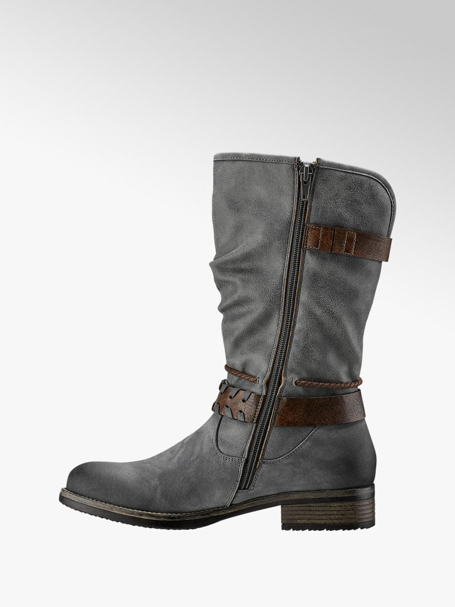 b2070358a4773 Damen Stiefel in grau von Rieker günstig im Online-Shop kaufen