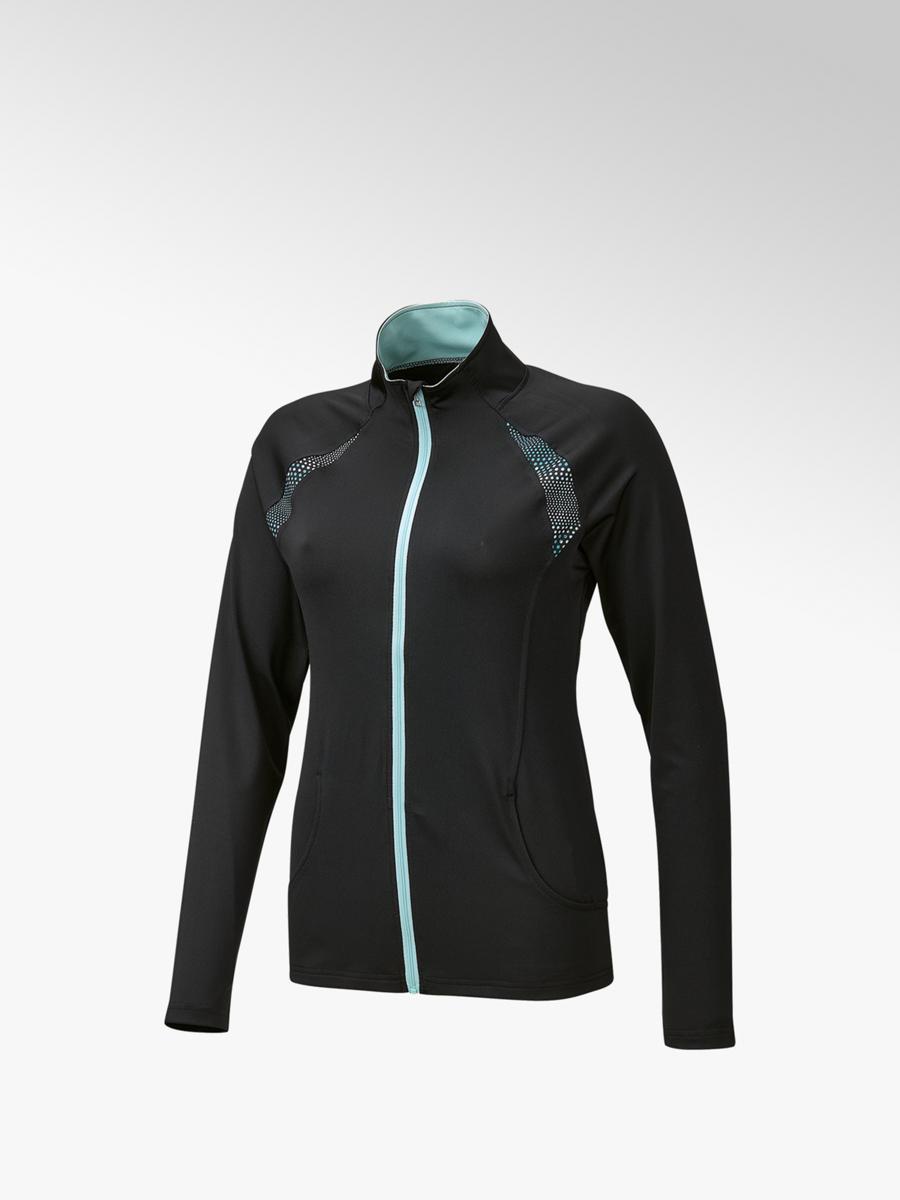 huge selection of c2c92 3934f Damen Training Jacke in schwarz von Victory günstig im ...
